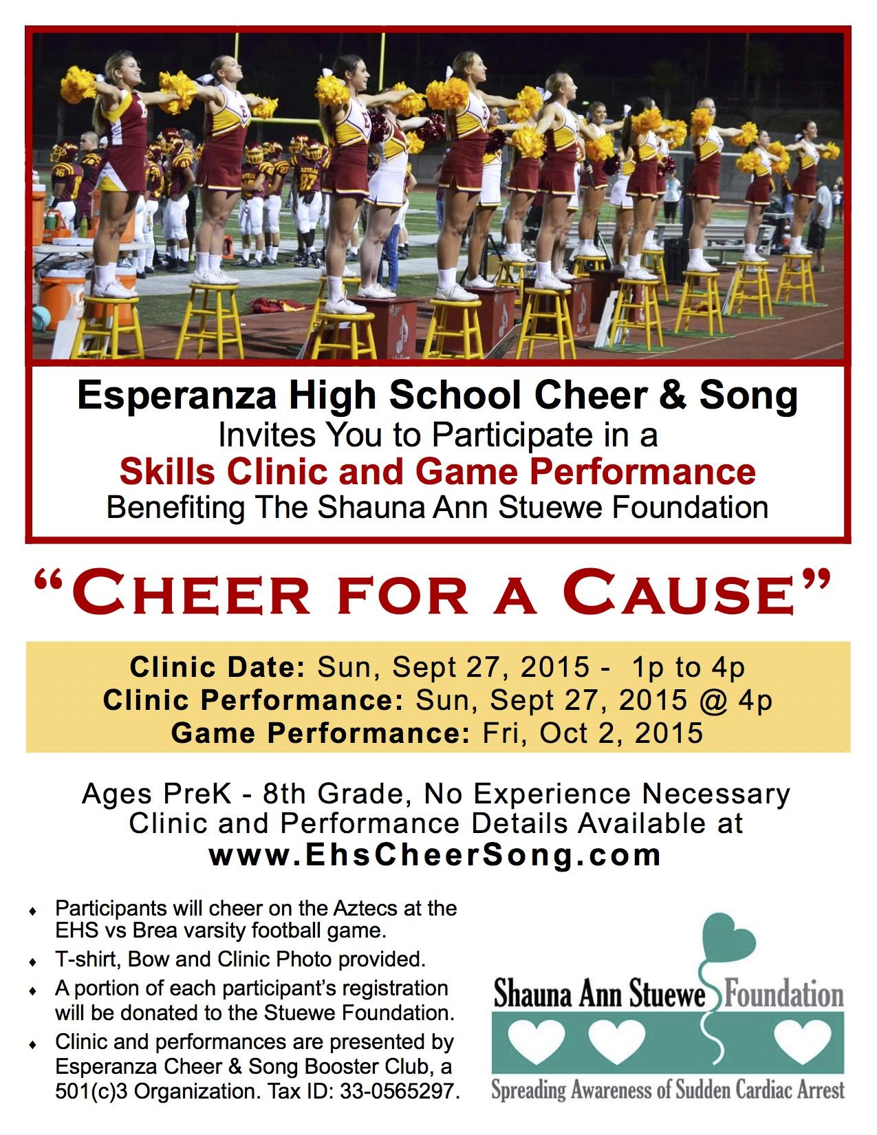 Cheer Song Clinic 2015 Promo Flyer (rev aug 12) copy